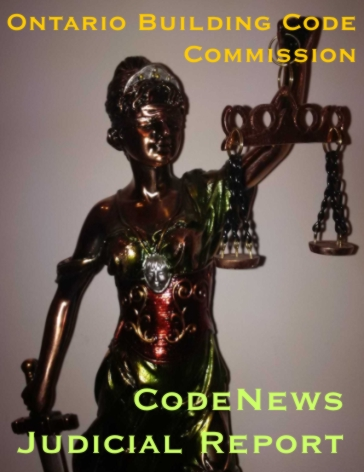 Ontario Building Code Commission Justice